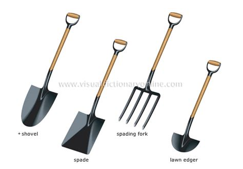 tools used for gardening plants gardening gardening tools for loosening the earth 1 image visual dictionary