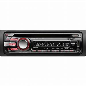 Auto Radio Sony : sony cdx gt430u cd mp3 wma car stereo with usb cdx gt430u from sony ~ Medecine-chirurgie-esthetiques.com Avis de Voitures
