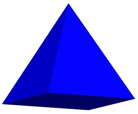 Pyramid Clipart 3d Shapes Clip Cliparts