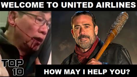 United Airline Memes - top 10 united airlines funniest memes youtube