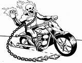 Rider Ghost Motorcycle Coloring Clip Deviantart His Marvel Motorcycles Printable Random Raskrasil sketch template