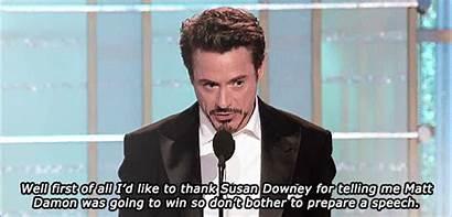Downey Robert Jr Speech Funny Susan Iron