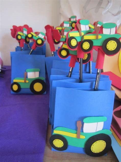 mis cositas en goma cumple de tractores lucas foamy pinterest birthdays