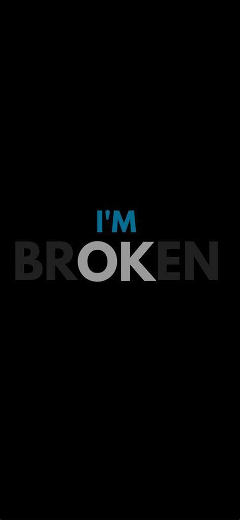 Broken Heart Wallpaper 1080x2340