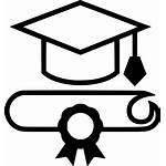 Graduation Cap Outline Svg Icon Clipart Onlinewebfonts