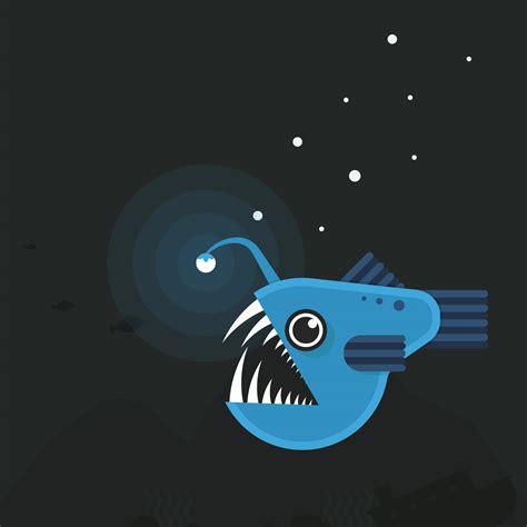 Deep Sea Fishing Boat Vector by Deep Sea Fishing Illustration Angler Fish Download