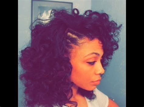 curly fro  braided side youtube
