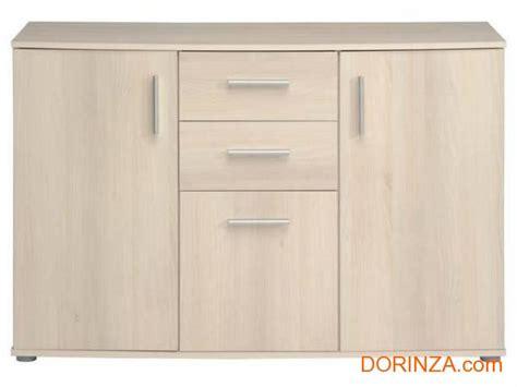 meube de rangement bahut 3 portes 2 tiroirs conforama salto all dorinza