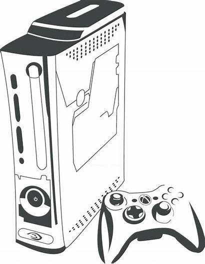 Coloring Xbox Controller Pages Sheet Printable Getcolorings