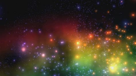 fps massive stars space motion background animation