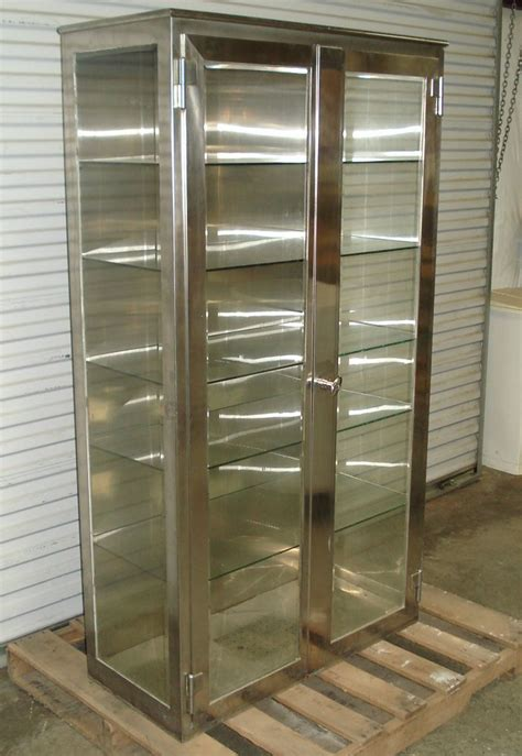 stainless steel kitchen storage cabinet 14 best images about glass cabinets on pinterest storage