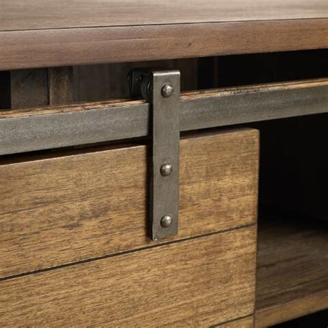 barn door media cabinet wood barn door storage cabinet world market