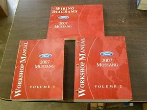 Oem Ford 2007 Mustang Shop Manual Books   Wiring Diagram