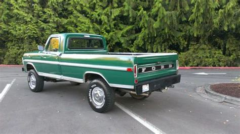 Find used 1970 Ford F-250 4x4 Highboy in Issaquah ...