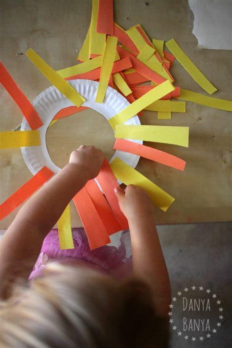 easy lion mask craft  toddlers danya banya