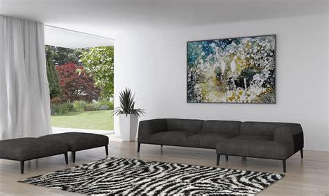 tapis zebre deco