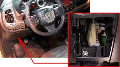 2012 Fiat 500 Fuse Box Location by Fiat 500l 2013 2018