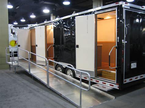 restroom trailer   event  work clean