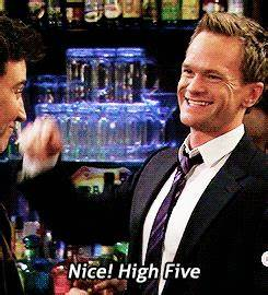 High Five Barney Stinson GIF - Find & Share on GIPHY