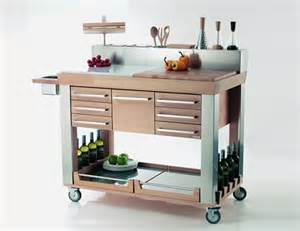 kitchen island trolleys modern kitchen trolleys shelterness