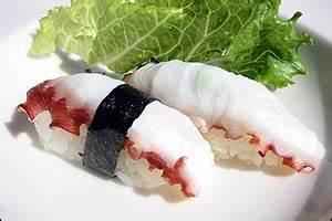 Tako sushi Substitutes, Ingredients, Equivalents