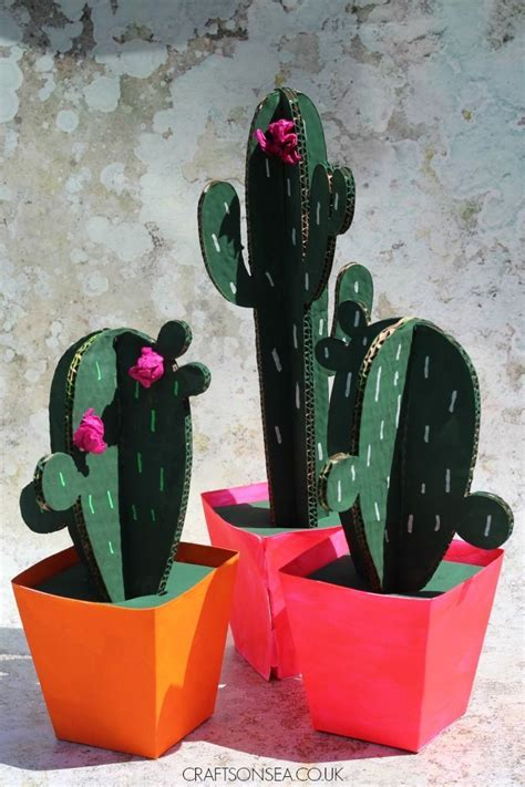 diy cardboard cactus easy cardboard letters diy