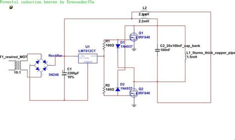 powerful  simple induction heater