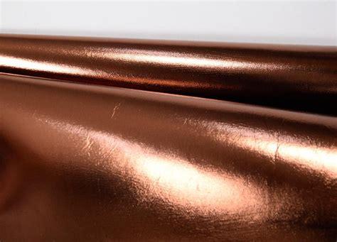 Ital Taschenleder Copper Kupfermetallic 1,01,2 Mm