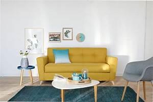 alinea canap lit bz avec coffre de rangement conforama With tapis jaune avec canape convertible a conforama