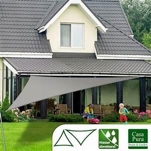 Sonnensegel Für Balkon : sonnensegel wasserabweisend casa pura testnote 1 4 dreieck ~ Frokenaadalensverden.com Haus und Dekorationen