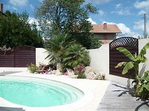 amenagement exterieur a landiras 33 aquagrement With delightful amenagement terrasse et jardin 13 terrasse piscine galets