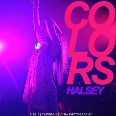 halsey colors mp  lyrics mpblu