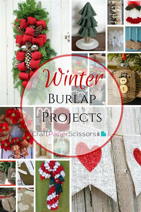 burlap projects   season