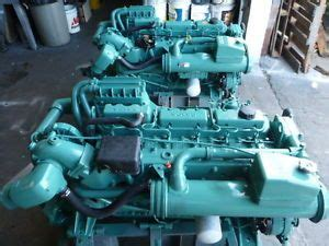 volvo penta tamd 41b 200 hp rpm marine diesel engine transmission on popscreen