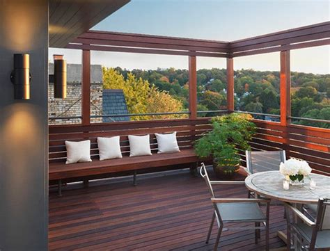 modern  contemporary rooftop terrace designs home design lover