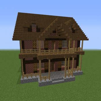 unfurnished brick villa  blueprints  minecraft houses castles towers   grabcraft
