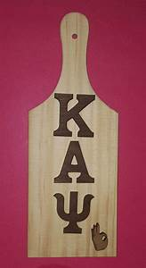 63 best kappa alpha psi images on pinterest kappa alpha With wooden paddle letters