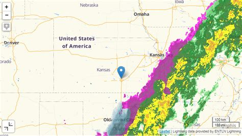 Interactive Kansas Radar