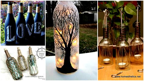 craft ideas for bottles 20 wine bottle projects you can start anytime 6132