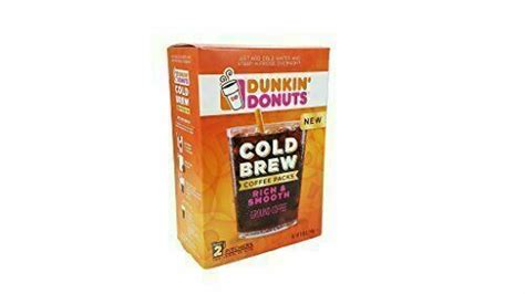 Bakery, breakfast sandwiches, bakery sandwiches, combos with coffee, combos with tea. Dunkin' Donuts Cold Brew Coffee Packs 2 Boxes | eBay