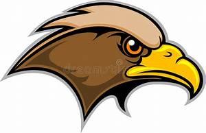 Hawk Mascot stock vector. Illustration of beak, flight ...