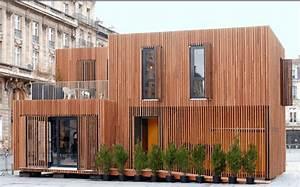 Maison Modulaire Bois : maison modulaire bois la maison bois d 39 architecte xavier ~ Melissatoandfro.com Idées de Décoration