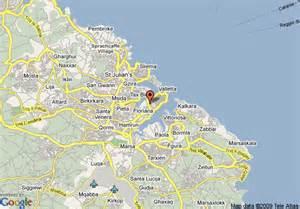 Where Is Valletta Malta On a Map