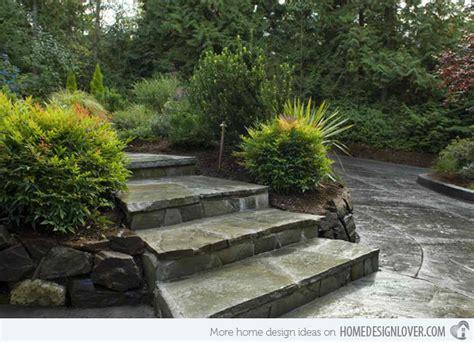 Garden Steps Design Ideas