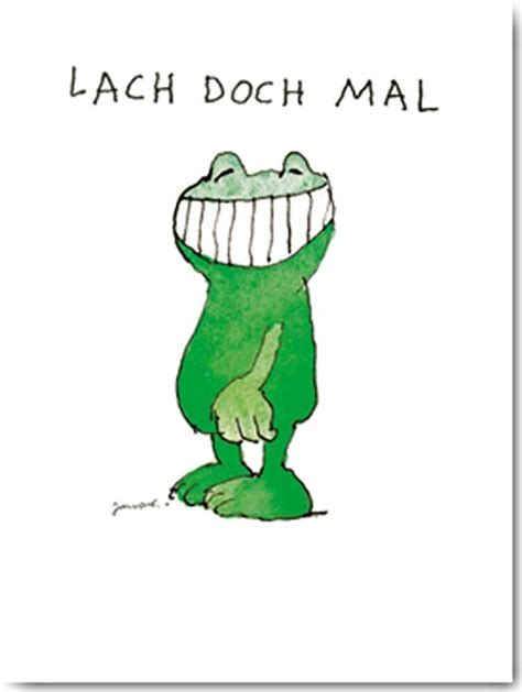 Bild Als Poster by Janosch Lach Doch Mal Kunstdruck 30x40