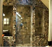 Photo Stone Tile Bathrooms Stone Bathroom Design Ideas
