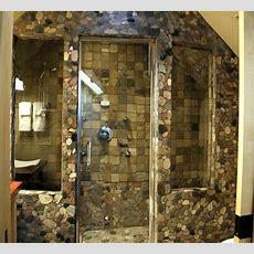 35 magnifiques salles de bains en pierre brute moderne - Idee Salle De Bain Pas Cher1945