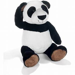 Peluche Géante Panda : peluche panda 90 cm plush company mynoors ~ Teatrodelosmanantiales.com Idées de Décoration