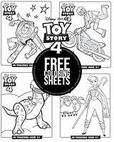 Toy Coloring Story Sheets Printables Disney Worksheets Sign sketch template