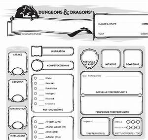 Dungeons And Dragons 5 Edition Deutsch Pdf : d d5 charakterbogen auf deutsch am rande des w rfelversums ~ A.2002-acura-tl-radio.info Haus und Dekorationen